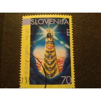 Словения 1994г. 700 лет статуе в Лоретто Марии с дитем