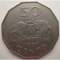 Свазиленд 50 центов 1998 г.