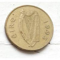 Ирландия 20 пенсов, 1995 4-3-14