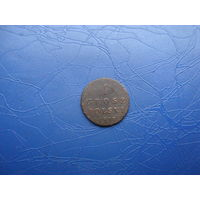 1 грош Польски 1817                                (4957)