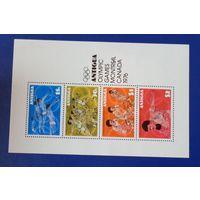 Антигуа. 1976 год. Олимпийские игры в Монреале.