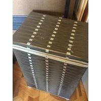 Корзина Ящик для белья 41х29х65 коричневая