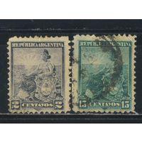 Аргентина 1899 Аллегория Республика #101,109