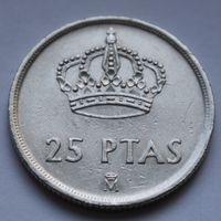 25 песет 1982 Испания