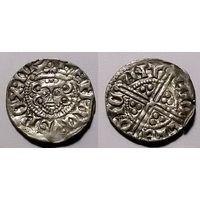 Англия, король Генри III, пенни, XIII век, диаметр 18 мм