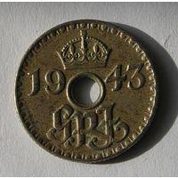 Брит. Терр. Новая Гвинея 6 Пенс 1943 (108)
