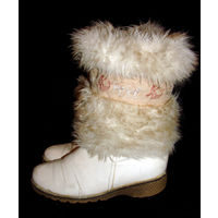 Теплые зимние сапоги, на меху, размер 38, на высокий подъем и на полную ногу, очень удобные
