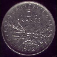 5 Франков 1972 год Франция