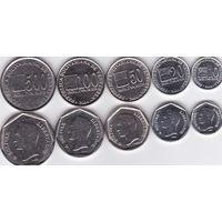 Venezuela / Венесуэла - набор 5 монет - 2002 2012 - UNC