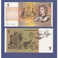 Банкнота Австралия 1 доллар не датирована (1983) UNC ПРЕСС Елизавета II