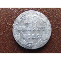 10 грошей pols 1831 KG биллон