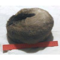 Шапка женская меховая норковая формованная