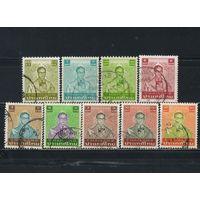 Таиланд 1981-6 Рама IX Бхумипол Адуладеж Стандарт #993-4.1065,1067,1076,1103,1107,1117,1187