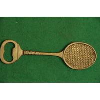 Открывалка . Формы теннисной ракетки . 19,5 см