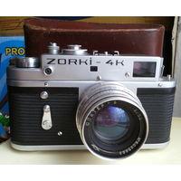 Зоркий-4К. и объектив Юпитер-8  2/50. ZORKI-4K.