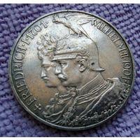 5 марок 1901 г. 200-летие королевства Пруссия.