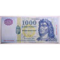 Венгрия 1000 форинтов 2003 год