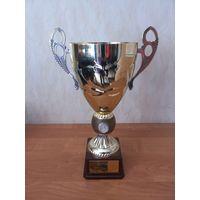 Спортивный кубок за II место. Чемпионат Гродненской области по легкоатлетическому кроссу, г. Лида, 2006 год.