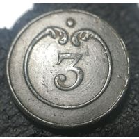 1812 Франция ВА номер 3 пуговица малая