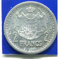 Монако 2 франка 1943