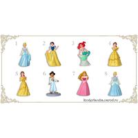 Полная серия фигурок Ландрин  Принцессы I (2006)