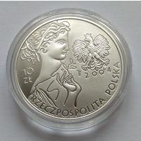 Польша, 10 злотых 2004 год