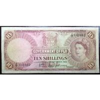 Фиджи, 10 шиллингов 1964 год, Р52