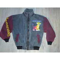 Джинсовая курточка для мальчика 4-6 лет