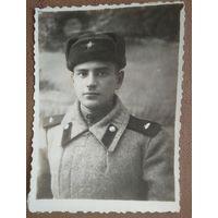 Фото солдата. 1946 г. 6х8 см.