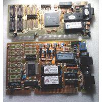 Две VGA ISA-видеокарты на запчасти