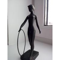 Коллекция КАСЛИ-КУСА.Гимнастка с обручем Касли 1975
