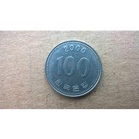 Южная Корея 100 вон, 2000г. (D)