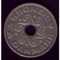5 Крон 1998 год Дания