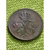 Швеция 1 эре 1740 г