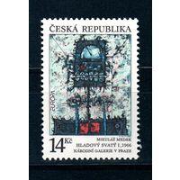 1993 Чехия Современное искусство выпуск по программе Европа марка**  Живопись