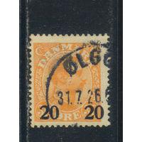 Дания 1926 Христиан X Надп Стандарт #151