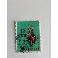 Сингапур 1968. Классические народные танцы и танцы в масках