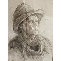 Рисунок портрет женщины