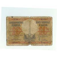 Албания, 10 лек 1940-44 год. Оккупация