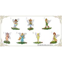 Полная серия фигурок Ландрин  Феи лесные / Fairies (2007)