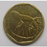 Фиджи 1 доллар 2012 г Игуана