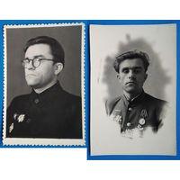 Два фото майора-орденоносца. 9х13 см(max). Цена за оба.