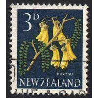 1960 - Новая Зеландия - Стандарт - Флора 3 Mi.396