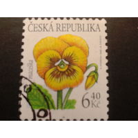 Чехия 2002 цветы стандарт