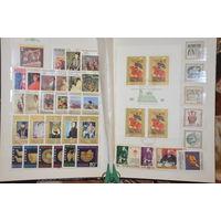 Коллекция марок. Альбом марок Болгарии. См.описание лота.