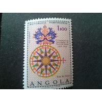 Ангола, колония Португалии 1969 500 лет Васко да Гама, полная серия