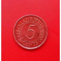 66-08 Маврикий, 5 центов 1999 г.