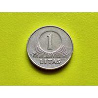 Литва. 1 лит 2001. (1).