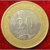 7613:  20 рупий 2007 Маврикий
