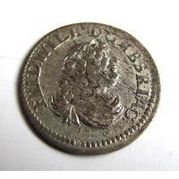 6 грошей 1686 без знака минцмейстера Кёнигсберг редкие